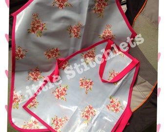 Big and small apron sets