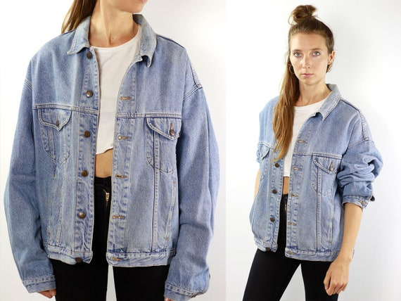 Vintage Denim Jacket Vintage Jean Jacket 80s Denim Jacket 80s Jean Jacket Benetton Jacket Blue Denim Jacket Blue Jean Jacket