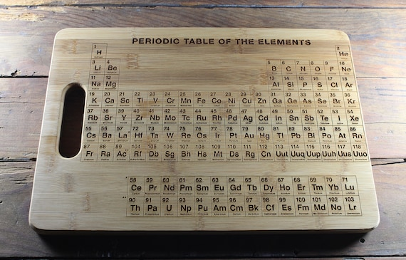 Personalized cutting board periodic table cutting board urtaz Images