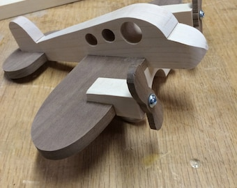 Wood Toy Airplane