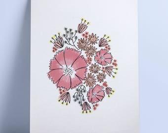 Flowers — Print