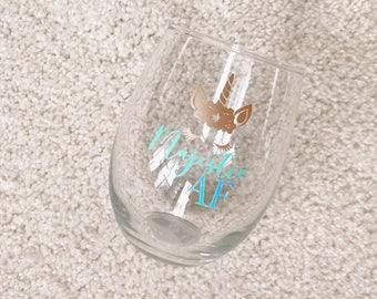 Majestic AF | stemless wineglass