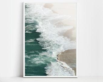 Beach Print Beach Decor Ocean Print Beach Wall Art Beach Poster Ocean Wall Art Beach Photography