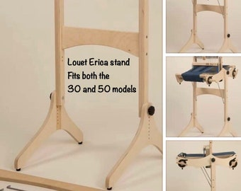 New Louet Erica 4harness folding table loom stand will fit both Erica loom sizes  sold out  : saorisantacruz