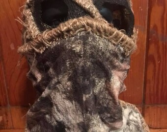 Thief full burlap mask