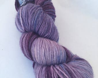Glittered sock yarn