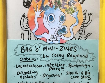 8 Pack Mini-Zines by Casey Raymond