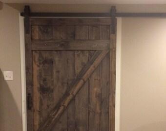 Z style vintage sliding barn doors