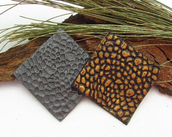Dragon Scale Polymer Clay Texture Stamp