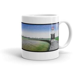Chicago Skyline Photography Coffee Mug