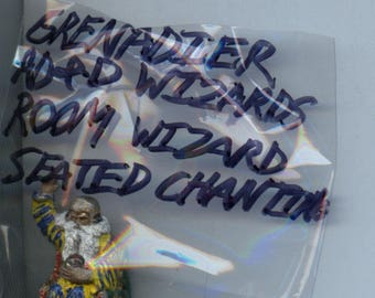 Grenadier Advanced Dungeons and Dragons Wizards Room Wizard Seated Chanting Painted Metal Miniature