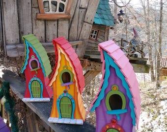 Wendi's Castle/Fairy House- Handmade and Signed by Disney Artist/Imagineer Art Millican Jr.