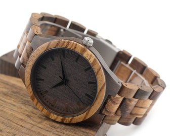 Wood Watch, Wooden watch,Personalized Wood Watch,Wood Watch men,Mens wooden watches,Wedding Gift,Wood Watches for him,Watch Husband Gift