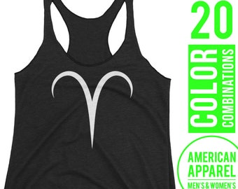 Aries Tank Top Aries Top Aries Clothes Aries Sleeveless Shirt Zodiac Tank Top Zodiac Top Zodiac Clothes