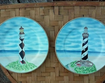 Royal Norfolk NC Lighthouse plates