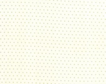 "End of Bolt 1 yard 10"" of Vintage Picnic Cream  Spot 55128 17 by Bonnie & Camille for Moda"