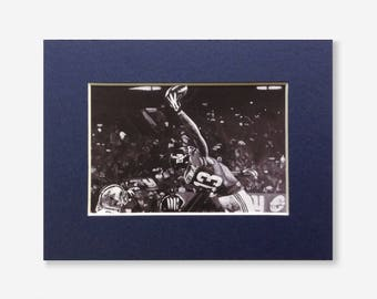 NEW YORK GIANTS fridge magnet - miniature print of 'That Catch!' acrylic painting by Stephen Mahoney - Odell Beckham Jnr's one-handed catch