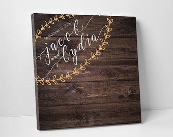 Alternative Wedding Guest Book Board Personalized Guest Book Unique Wedding Guest Book Personalized Guestbook Modern Guest Book - 6