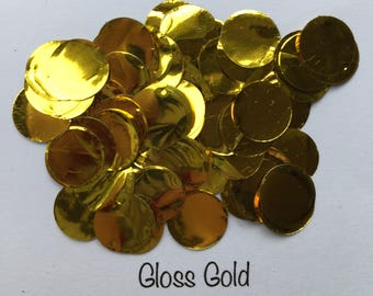 Gold Confetti for Wedding, Party, Baby Shower, Gender reveal