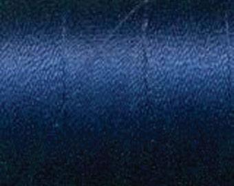 Aurifil Thread  50 wt. cotton Mako thread- Dark Navy Blue 2784  1422 yard spool