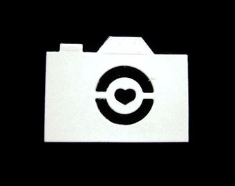 Paper Camera Die Cut Set of 25