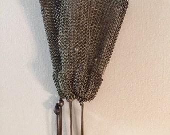 Metal Mesh Drawstring Purse
