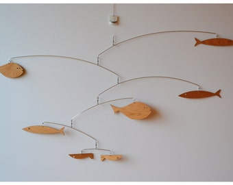 Free Shipping on Fun with Fish  in Walnut