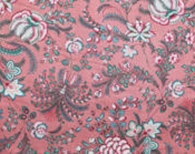 Dutch Heritage Indian Rhapsody 2034 - Coral Pink - 1/2yd