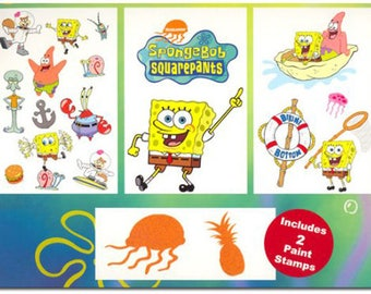 Spongebob Squarepants Room Decorating Kit
