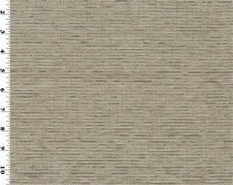 De Leo Gray Silver Streak Chenille Home Decorating Fabric, Fabric By The Yard