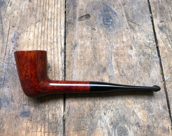 Briar Tobacco Pipe - Straight Dublin Pipe - #1047