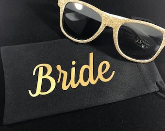 Custom Sunglass Pouch - Sunglasses Sleeve - Microfiber Sunglass Case - Sunglass Case