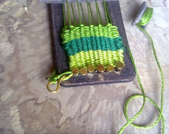 doll house miniature ,The loom for weaving wool OOAK