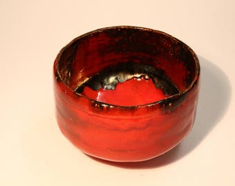 Traditional Japanese tea ceremony bowl, matcha chawan