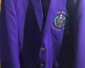 Fraternity Blazer -Product Update May - July 2018