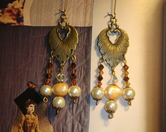 Earrings Retro Boho Chic culture