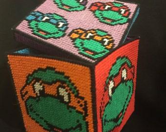 Teenage mutant ninja turtle box