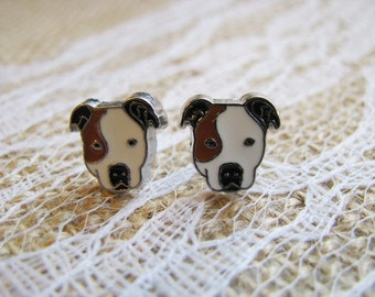 Pit Bull Earrings Pitbull Earrings Rescued Dog