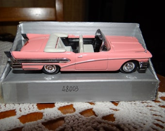 Brand New Die-cast Model of the 1959 Pink Cadillac
