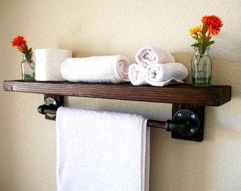 Floating Shelves Bathroom Shelf Floating Shelf Bathroom Shelves Rustic  Shelves