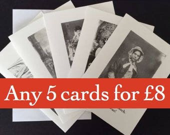 Pick'n'Mix pack of 5 cards