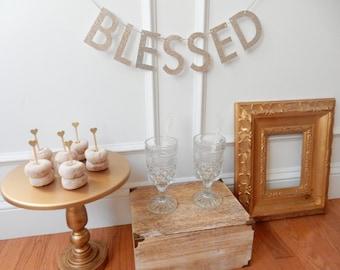 Blessed Banner - Baby Shower Decor
