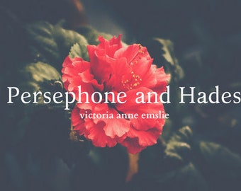 Persephone and Hades -  Mythology Romance Fiction Greek Gods Digital PDF E-Book