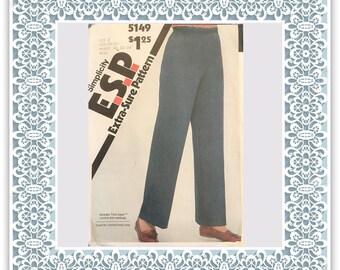 Simplicity 5149 (1981) Misses' pull-on pants - Vintage Uncut Sewing Pattern