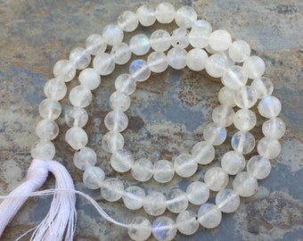 Round Moonstone Beads, Moonstone Rounds, Blue Flash, 4.5mm, 14.5 inch strand