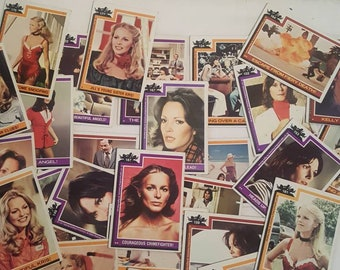 Vintage 1970s Charlies Angels Trading Cards