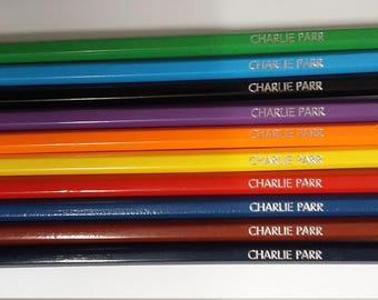 Personalised Colouring Pencils (10 Pack)
