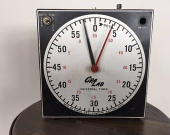 VINTAGE DARKROOM TIMER, GraLab Film Developing Timer, Universal Timer, 60 Minute Timer, Retro Film Timer