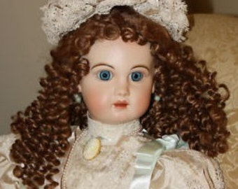 """The Enchantment Of Jumeau Doll - Artist Reproduction French Bebe - Patricia Loveless """"Jaqueline"""""""