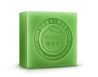 Bioaqua handmade essential oil soap bamboo charcoal soap